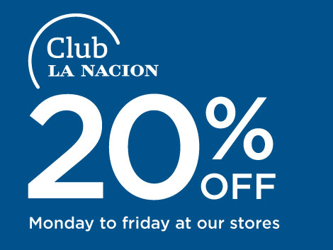 Club La Nación 20% Off